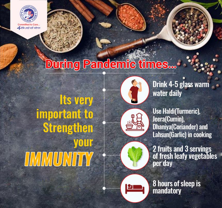 Improve Immunity during Pandemic Times