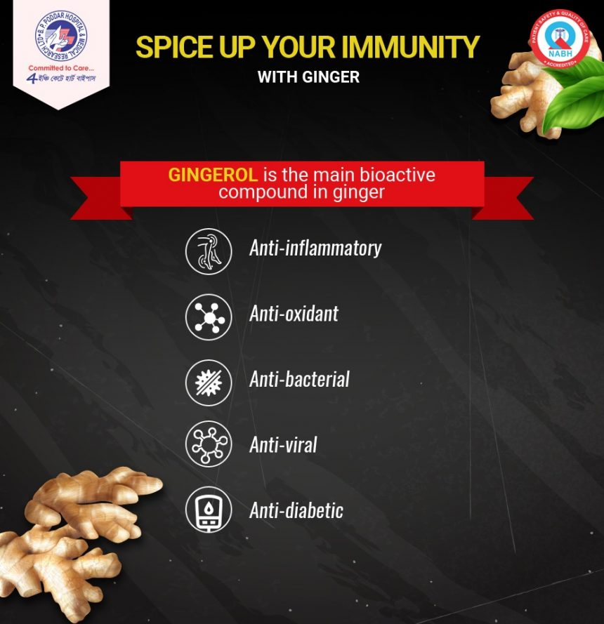 Spice up your Immunity with Ginger